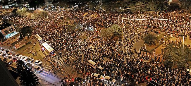 MPL liderou as manifestações contra o aumento das