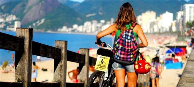 Mulheres ciclistas: crescimento expressivo no Rio
