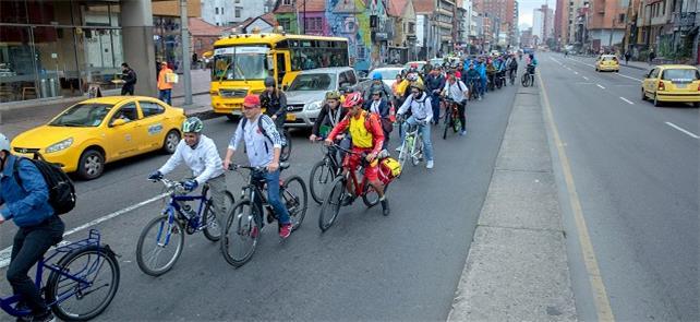 No dia sem carro, 1,21 milhão de ciclistas nas rua