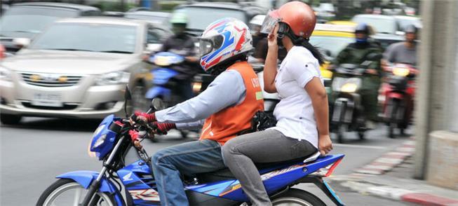 No Recife, modalidade de transporte não é permitid