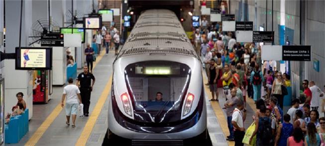 No Rio, 65% do transporte de passageiros foi sobre