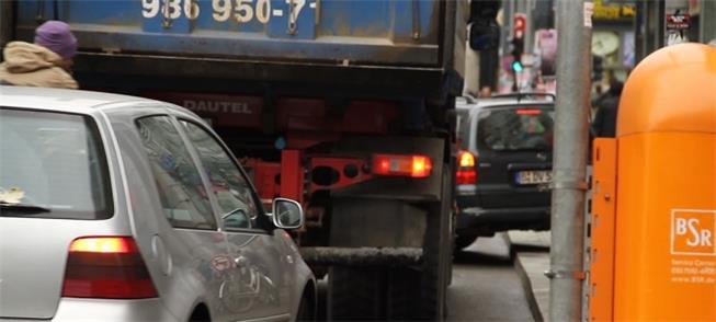 No trânsito, o sistema inteligente permitirá disti
