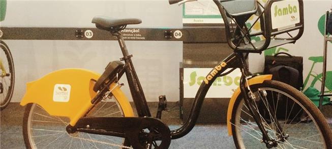 Nova bicicleta dockless da Serttel: cadeado na pró