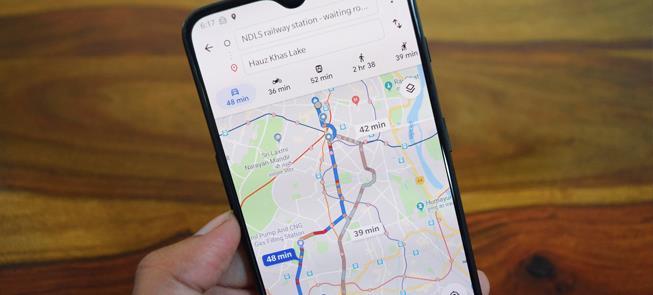 Nova funcionalidade do google maps informa lotação