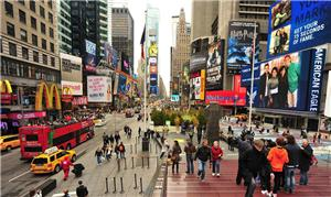 Nova Iorque optou pela reurbanização da Times Squa