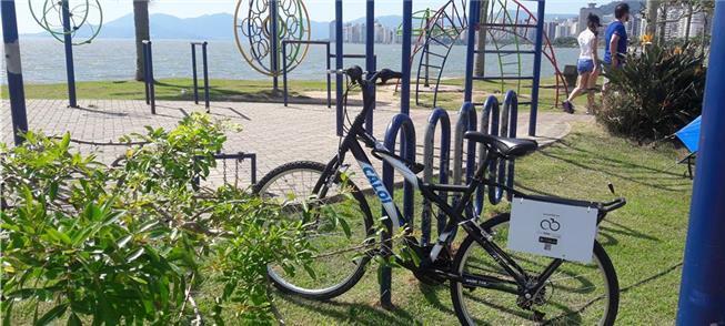 Novidade: bicicletas compartilhadas em Florianópol