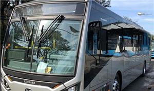 Novos ônibus elétricos BYD vão circular em Uberlân