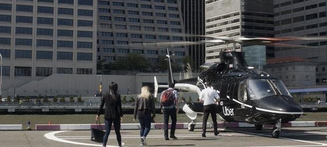 NY terá helicópteros da Uber a partir de julho des