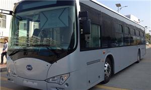 O Eco-ônibus K-9 ficará em Palmas até a próxima te