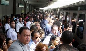 O metrô de lá não é visto como o principal meio de