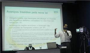 O pesquisador do IPEA Ernesto Galindo