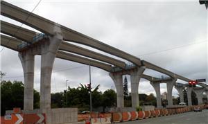 O ramal completo terá 17,7 km de extensão e 18 est