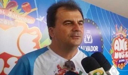 O secretário de Mobilidade Urbana de Salvador, Fáb