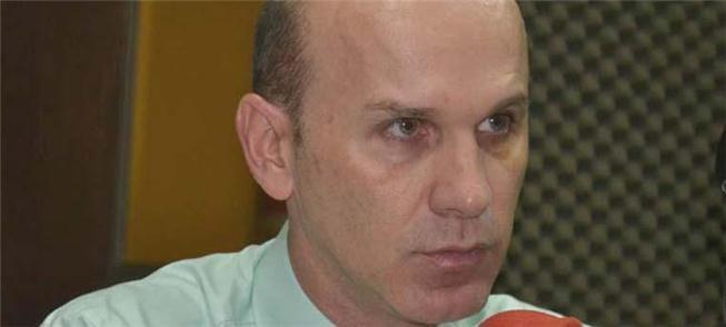 O secretário de obras André Agra