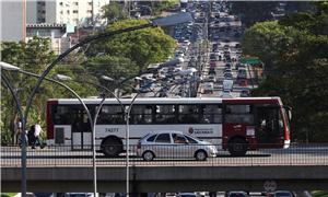 O sistema de ônibus municipal de São Paulo perdeu