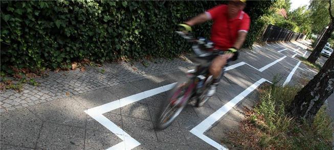 O trecho que virou piada entre ciclistas berlinens