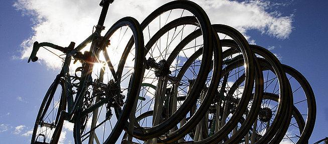 O uso de bicicletas como principal meio de transpo