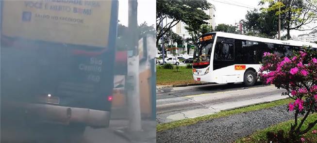 O visual dos ônibus é um elemento de bem-estar nas