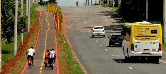 Obra já está sendo utilizada por ciclistas locais