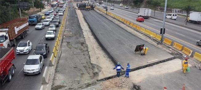 Obras do BRT Transbrasil estão paradas desde março