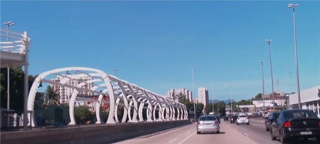 Obras do BRT Transbrasil são retomadas no Rio