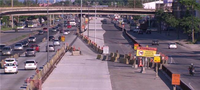 Obras do corredor BRT Transbrasil (RJ): suspensas