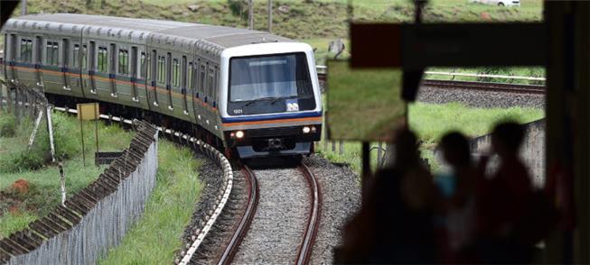 Obras incluem expansão do metrô em Samambaia (DF)