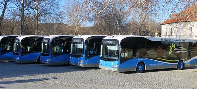 Ônibus 100% elétricos vão operar no centro de Madr