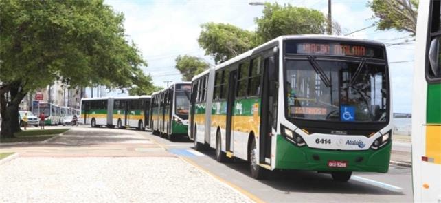 Ônibus articulados já circulam em Aracaju. BRT ain