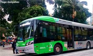 Ônibus da Viação Santa Brígida