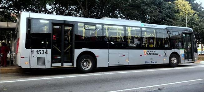 Ônibus de São Paulo: veículos novos sem as cores d
