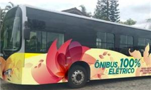 Ônibus elétrico será testado em Joinville (SC)