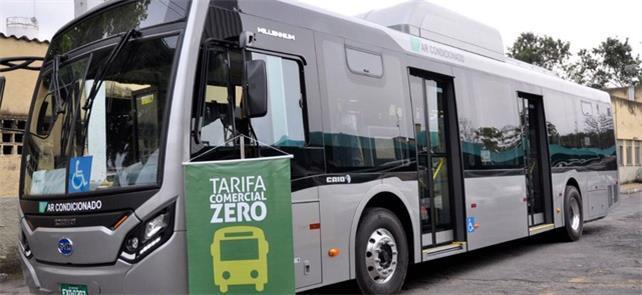 Ônibus elétricos, como em Volta Redonda, já estão