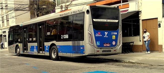 Ônibus em via da capital paulista