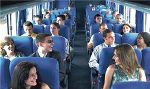 Ônibus fretado: um dos meios de facilitar a ida ao