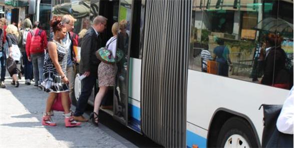 Ônibus gratuito em todo o Grão-Ducado de Luxemburg