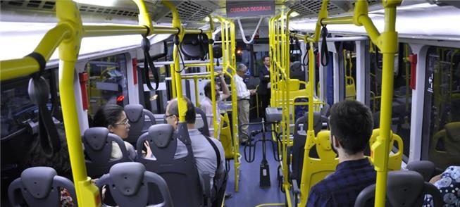 Ônibus híbrido no Brasil