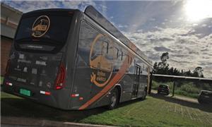 Ônibus movido a energia solar fará 50 km em Floria