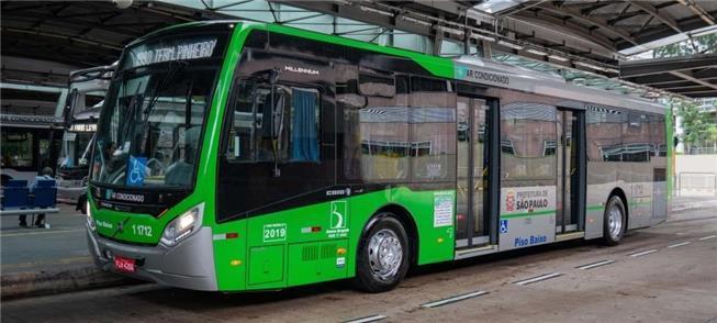 Ônibus padron em São Paulo: breve sem o posto do c