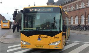 Ônibus percorreu 325 km com uma única carga, um re