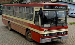 Ônibus que serve a cidade de Tijucas do Sul (PR)