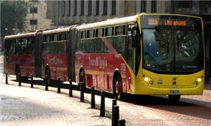 Ônibus que trafegam em vias exclusivas pela cidade