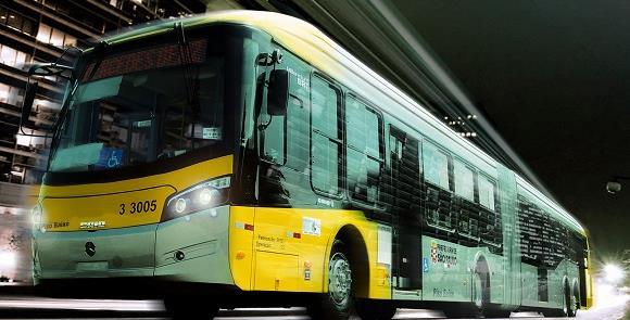 Ônibus urbanos em São Paulo