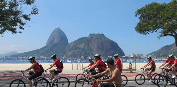 Orla da Zona Sul no Rio de Janeiro