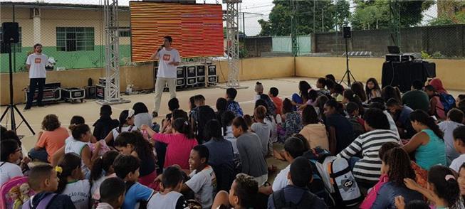 Palestra sobre mobilidade reúne estudantes em Cari