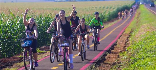 Parceria Prefeitura e Itaipu viabilizou ciclovia d