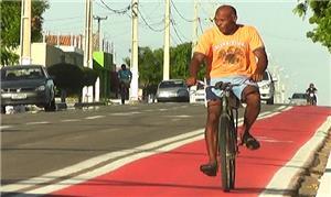 Parnaibanos aderem à ciclovia da São Sebastião