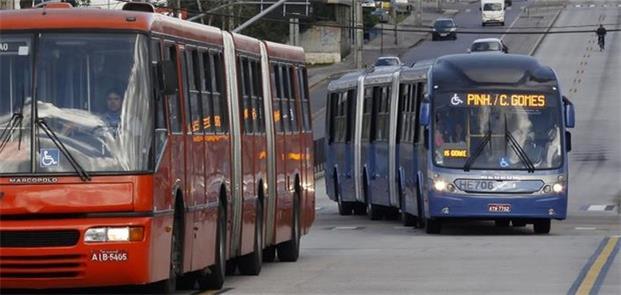 Passagem de ônibus em Curitiba e na RM foi reajust