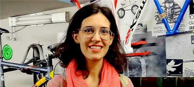 Patrícia Valverde: sete anos de bicicletaria