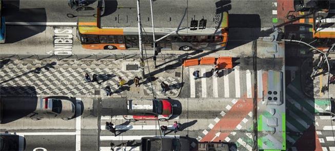 Paulista x Consolação em São Paulo: imagem com dup